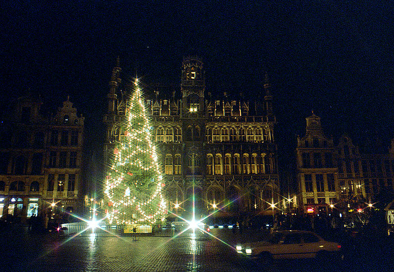 Brussels Grand Place Christmas