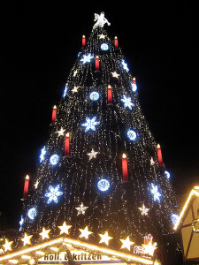 Dortmund christmast tree