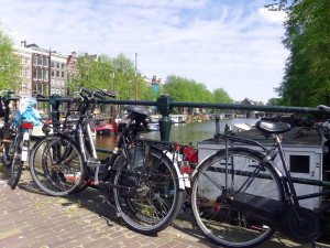 Amsterdam Cycling bike Tripball