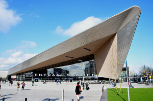Rotterdam Central Station (Image by Spoorjan)
